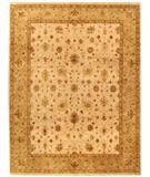 RugStudio presents Due Process Amritsar Sultanabad Ivory-Beige Hand-Knotted, Best Quality Area Rug